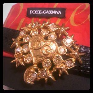 Dolce and go Gabbana woman's belt